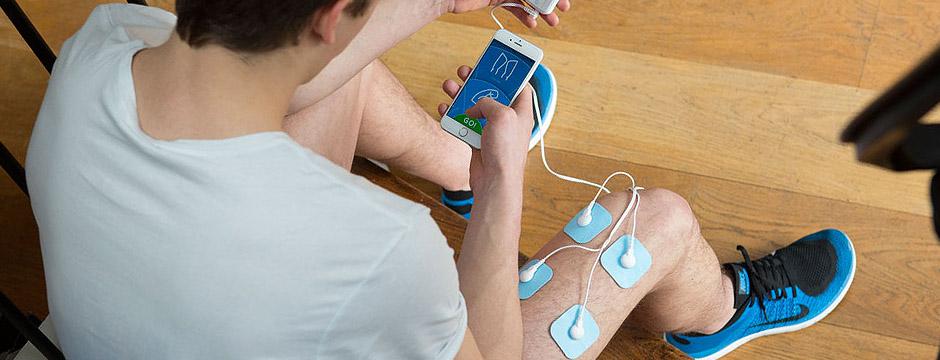 Utiliser l'électrostimulateur pour récupérer après les entraînements.